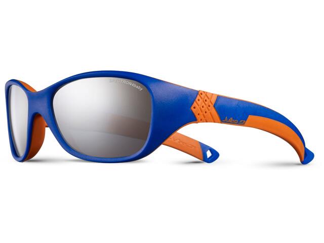 Julbo Solan Spectron 4 Sunglasses Kids 4-6Y Blue/Orange-Gray Flash Silver